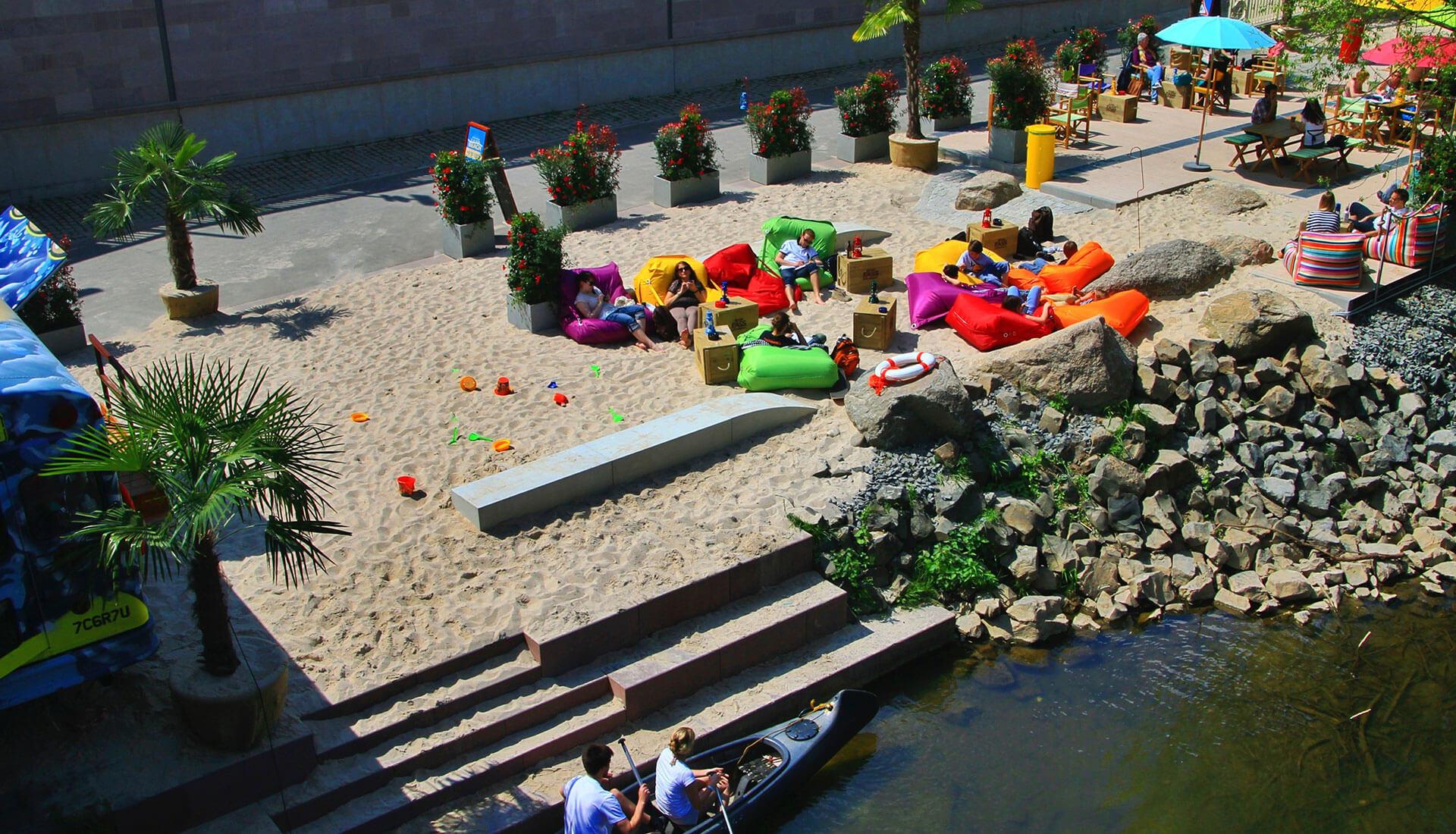 Aroma Lahn Beach - Stadtstrand in Marburg